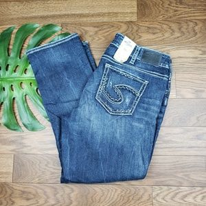 New with tag SILVER jeans size 18 straight